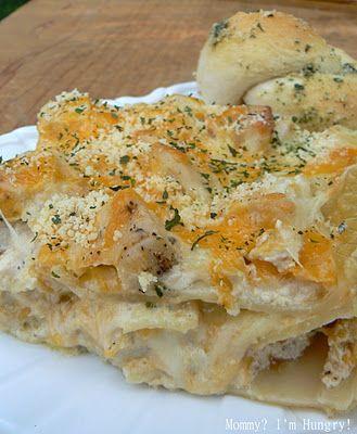 Chicken Ranch Lasagna