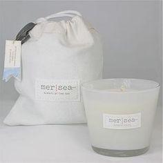 Mer-Sea & Co's Sandbag Candle - Crisp Sails
