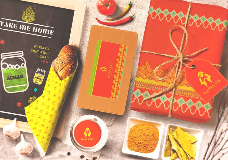 NAMASTE : Indian Street Food (Branding) on Behance