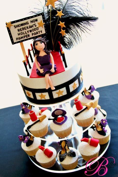 Hollywood Red Carpet Themed Cakes