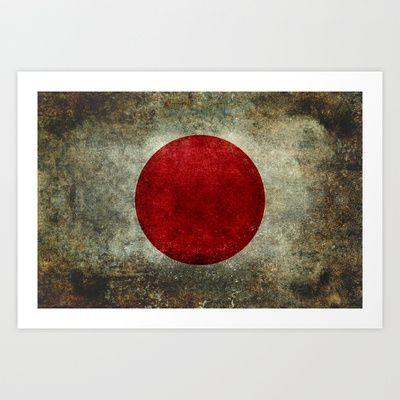 The national flag of Japan Art Print by LonestarDesigns2020 - Flags Designs + - $15.00