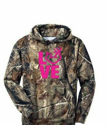 Browning camo hoodie. I want this! :)looooove it!!
