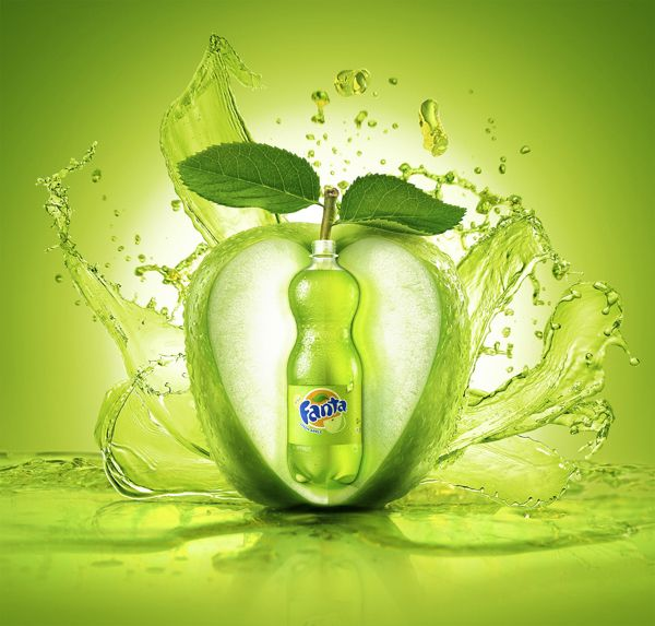 FANTA GREEN APPLE by LEAP STUDIOS , via Behance