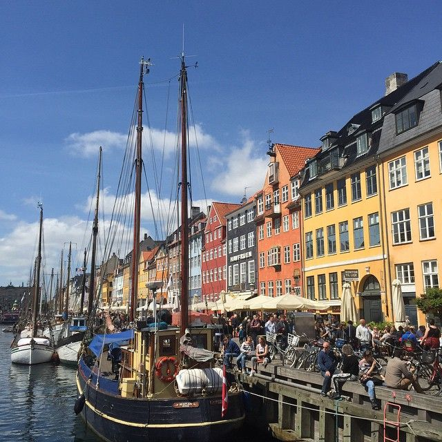 Beautiful Copenhagen☀️ #nyhavn #københavn #copenhagen #denmark #delditkbh #nofilter #sightseeing #with @agniessi ❤️