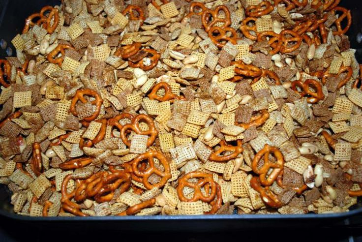 "Original Chex Mix – circa 1965-1975  Is the Original Chex Mix recipe truly the original?  No, it's not!  The current ""original"" recipe includes bagel chips and seasoned salt.  Bagel chips did not exist in the 1950s, when Chex Mix was invented.  I'm fairly certain the seasoned salt blend had not yet been invented, either, but I cannot find any data to support my theory."