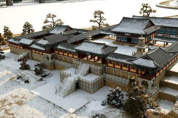까마구둥지 : 한국의 사라진 대사찰 (8)- 신라 불국사 佛國寺