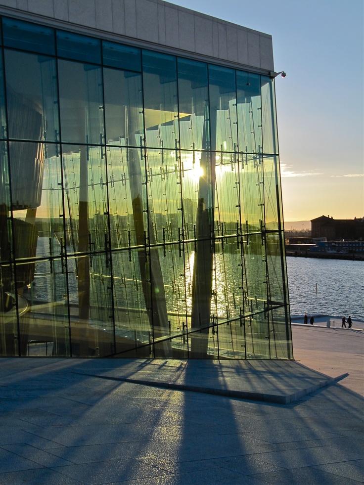 Oslo Opera House. Photo: Åse Margrethe Hansen