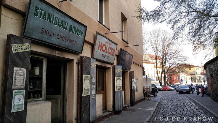 The Jewish Quarters in Kraków Poland.