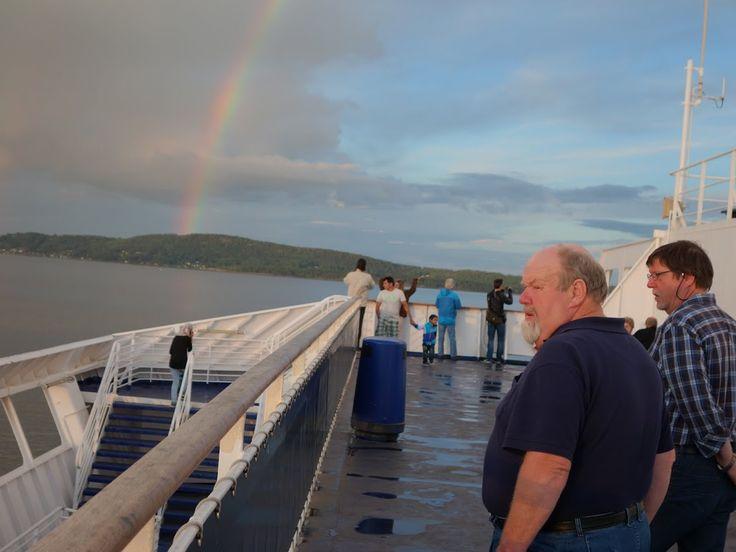 Rainbow over Stena Line PICT_20140701_214542.JPG