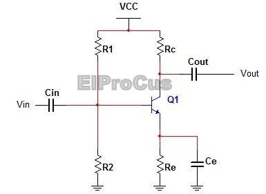 A single stage common emitter #RCCoupledAmplifier is a simple and elementary #AmplifierCircuit.