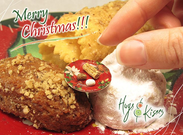 HugsKissesMINI sends you.. tiny wishes for the best & happiest Christmas!!! ♥  ► www.hugskissesmini.etsy.com  ► https://www.facebook.com/pages/Hugs-Kisses-mini/493026320725219