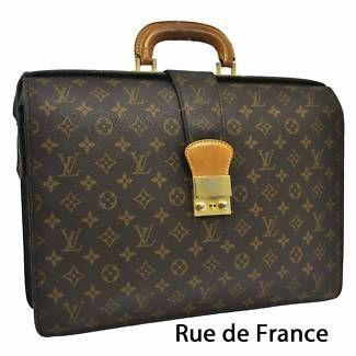 VINTAGE AUTHENTIC LOUIS VUITTON BUSINESS BAG LUGGAGE  BAG