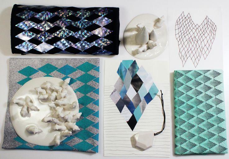 ceramics and textile, work in progress! www.andenogmanden.dk