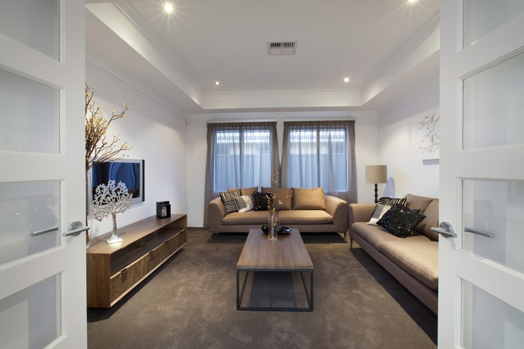Large home theatre room or lounge area
