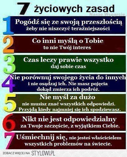 7 życiowych zasad