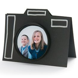 """""""camera card""""  this would be nice for father's day. or any day."""
