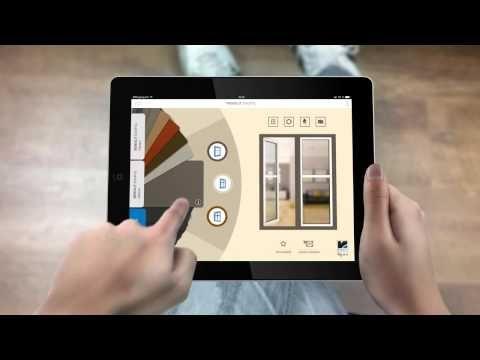 Приложение для iPad. Подбор цвета окон RENOLIT EXOFOL