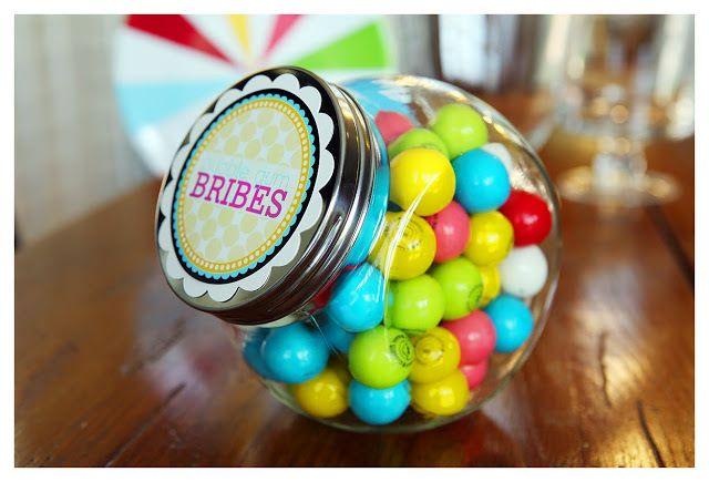 teachers gift teachers appreciation gift ideas jars labels bubbles gum ...