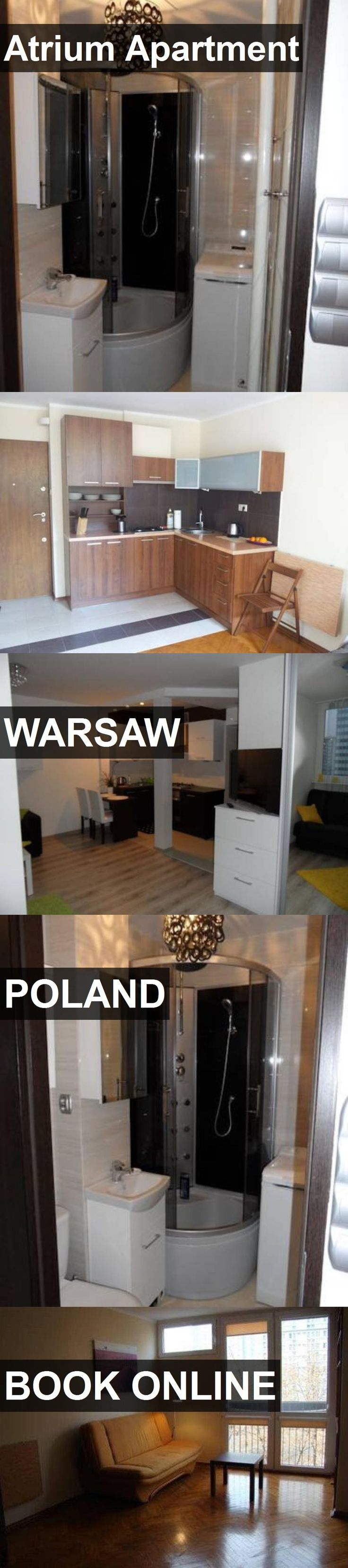 Hotel Atrium Apartment in Warsaw, Poland. For more information, photos, reviews and best prices please follow the link. #Poland #Warsaw #AtriumApartment #hotel #travel #vacation