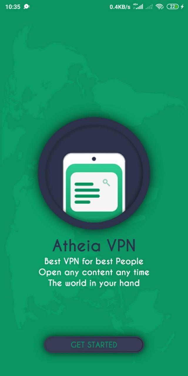 Atheia Vpn Best Secure Free Premium Vpn Lifetime With Admob Best Vpn Best Good People