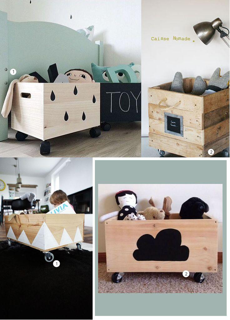 Opzoek naar leuke kinderkamer opbergers voor al dat speelgoed? In dit item vind je voorbeelden van DIY opbergkisten die je op een simpele manier kan pimpen!