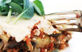 Vegetarian Moussaka is a recipe the whole family can enjoy. Great served with a Greek salad or your favourite vegies, it's perfect for a weeknight in with the family or a weekend banquet to impress friends!