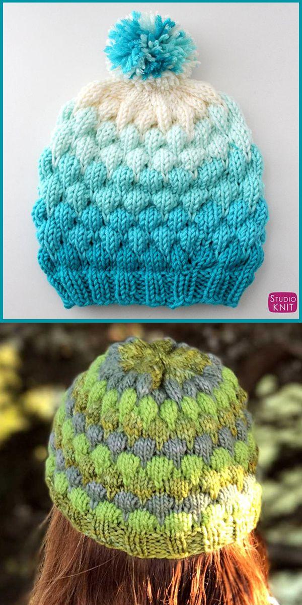 Pin on Multi-Colored Yarn Knitting Patterns