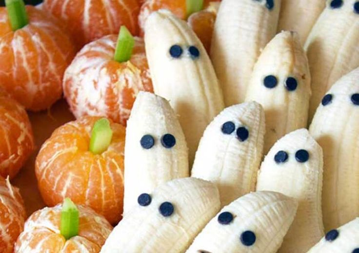 Tangerine Pumpkins & Banana Ghosts