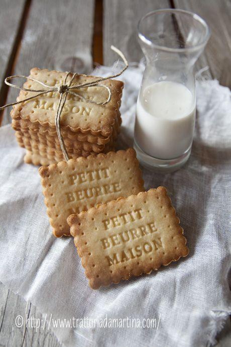 Petit beurre fait maison