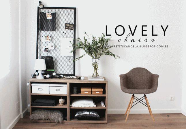 M s de 1000 ideas sobre sillas de moda en pinterest - Sillas para habitaciones ...
