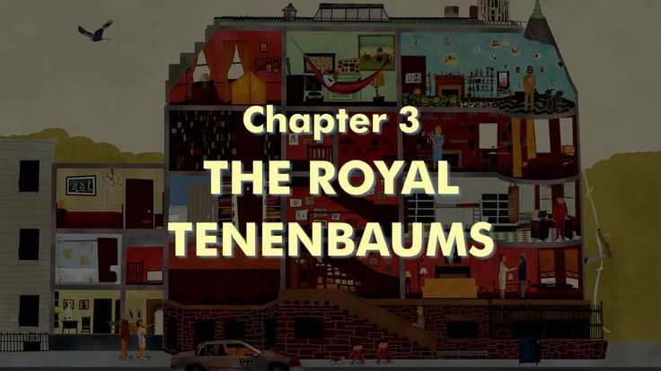 THE WES ANDERSON COLLECTION CHAPTER 3: THE ROYAL TENENBAUMS. Adapted from the book THE WES ANDERSON COLLECTION by Matt Zoller Seitz  abramsb...