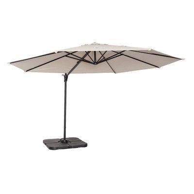 Coolaroo 12u0027 Round Cantilever Patio Umbrella U0026 Reviews | Wayfair