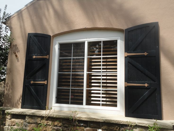 Dress Up Your Windows With Board And Batten Shutters: House Shutters  Menards Also Board And