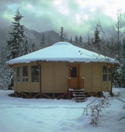 77 best yurt living images on pinterest