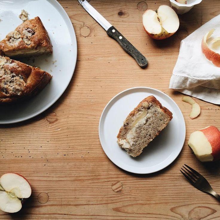 HAZELNUT, RICOTTA AND APPLE CAKE — OSTRO