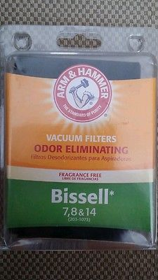 Arm & Hammer Replacement Vacuum Filter  62627D. Bissell 7, 8 & 14