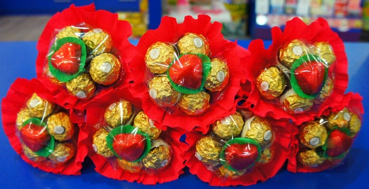 Ramos de chocolate para san valent n creado por dulce - Dulces de san valentin ...