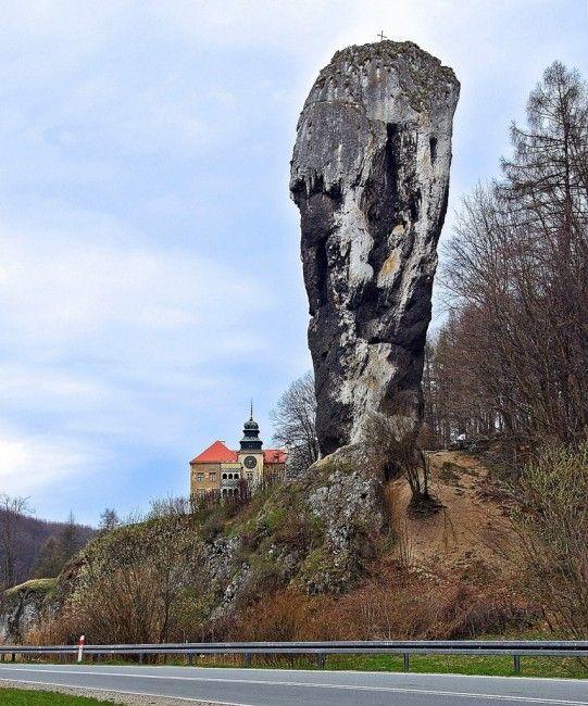 Zdjęcia: Dolina Prądnika, Małopolska, Maczuga Herkulesa, POLSKA