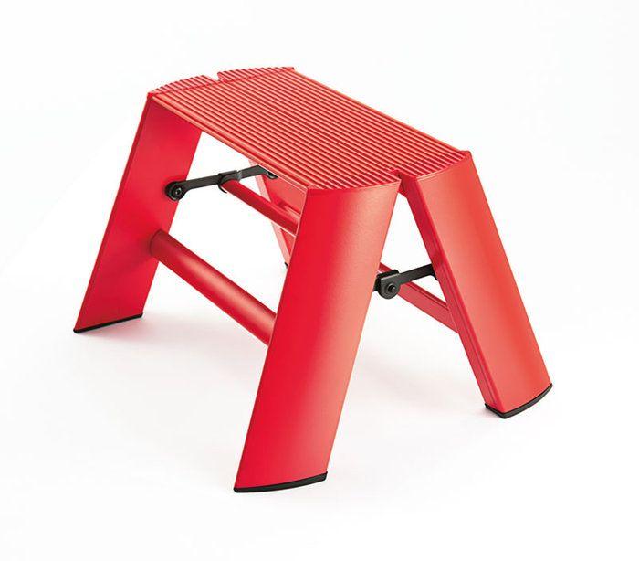 男性・女性に人気のおしゃれなアイテム。ギフトとしてもオススメ。ルカーノ 1-Step ワンステップ 脚立 踏台 lucano メタフィス metaphys 長谷川工業 脚立 踏み台 踏台 梯子 はしご グッドデザイン