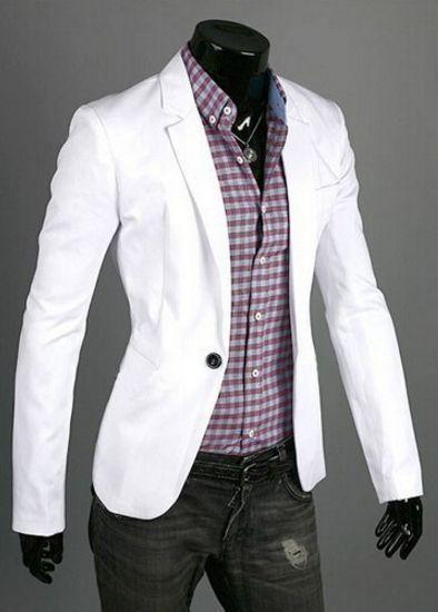Men's Casual Blazer Suit Jacket - 8 Colors!