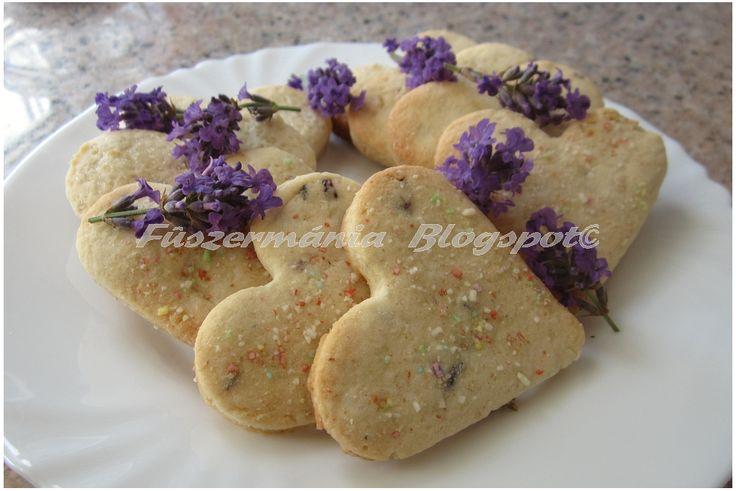 Fűszermánia: Levendulás áfonyás keksz