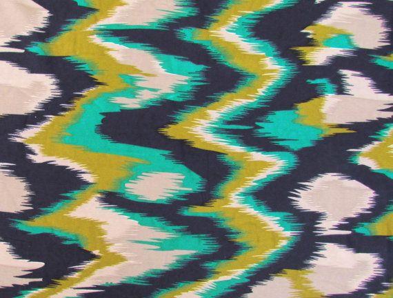 Abstract Print Poly Crepe Fabric  PCR044  1 yard by pallavik, $8.50