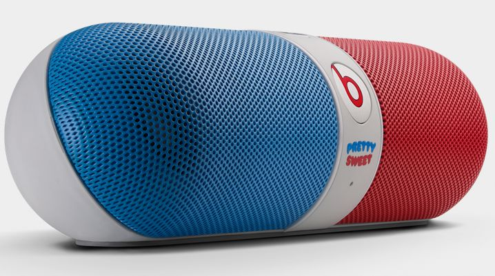 Super Cool Beats Pill Speaker Designed With Girl