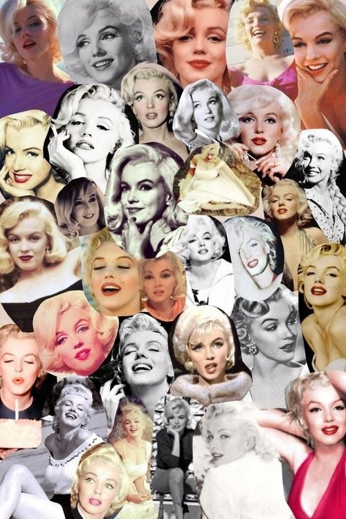 collage of marilyn monroe picture perfect pinterest