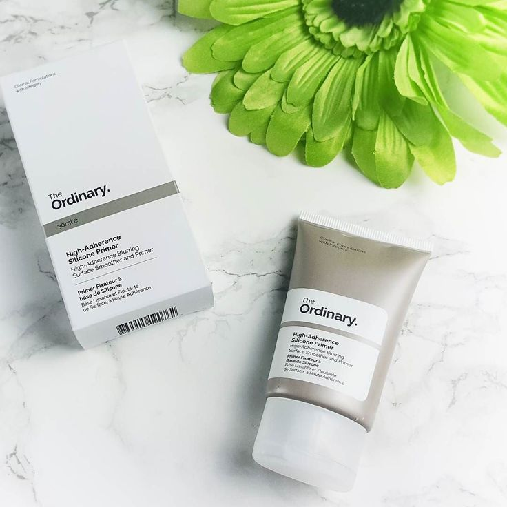 I really like The Ordinary High-Adherence Silicone Primer by @deciem. You can wear it under make-up or alone. I don't wear make-up THAT often so this is really nice to use as a last step in the morning as it's non-greasy but hydrating and it does reduce imperfections in the skins texture and also reduces the look of pores. As someone with slightly larger pores across the nose cheek and chin area this product is great. You can expect a full review on my blog soon…