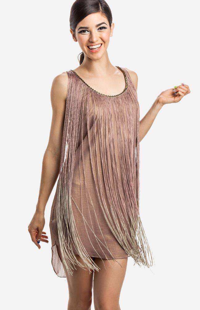 Gallery For > Fringe Dress Flapper