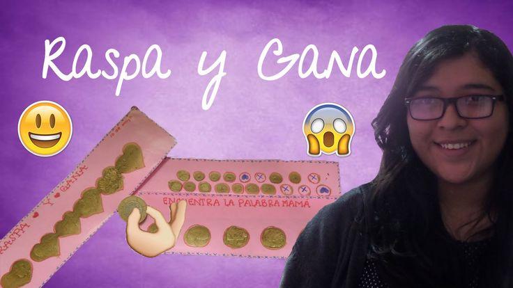 Raspa y Gana Mamá!!|DIY