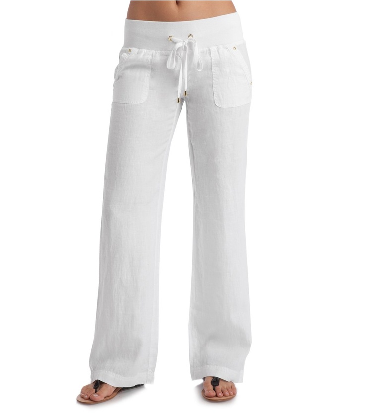 Unique White Linen Pants Women Outfits  Luxury Yellow White Linen Pants Women Outfits Photo U2013 Playzoa.com
