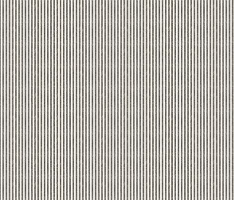 Black and Cream Ticking fabric by jolenebalyeatdesigns on Spoonflower - custom fabric BATHROOM idea