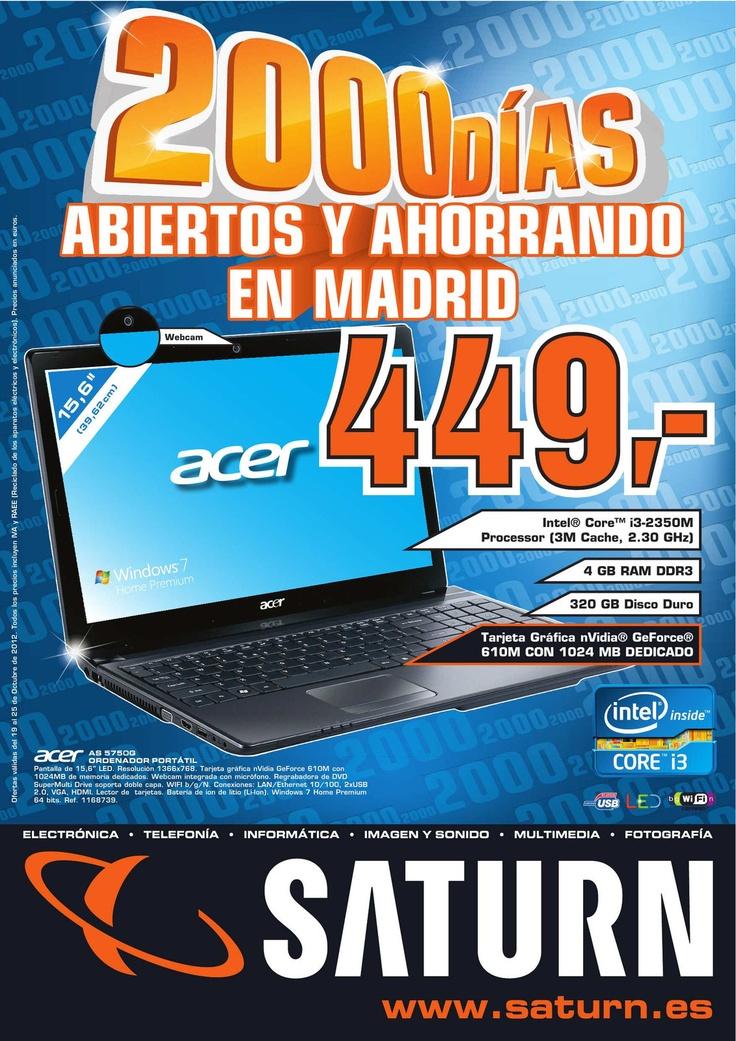 2000 días abiertos y ahorrando en Madrid, aquí el catálogo de Saturn http://www.ofertia.com/tiendas/saturn